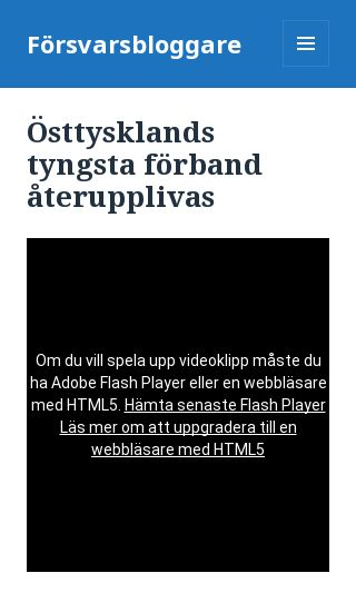 Mobile preview of försvarsbloggare.se