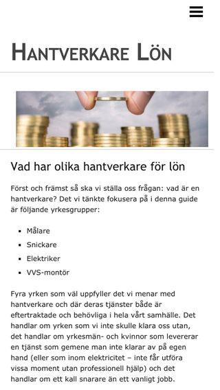 Mobile preview of hantverkarlöner.se