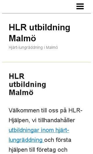 Mobile preview of hlrutbildningmalmö.se