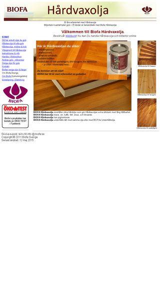 Mobile preview of hardvaxolja.se