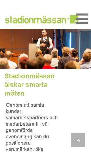 Mobile preview of konferensmalmö.nu