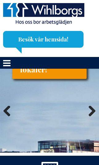 Mobile preview of ledigalokalermalmö.nu