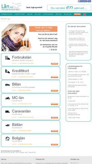 Mobile preview of lån.no