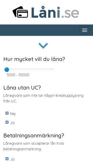 Mobile preview of låni.se