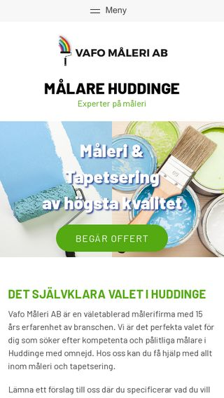 Mobile preview of målarehuddinge.nu