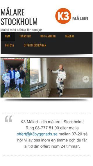 Mobile preview of målarenstockholm.se