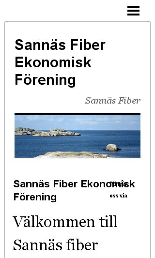 Mobile preview of sannäsfiber.se