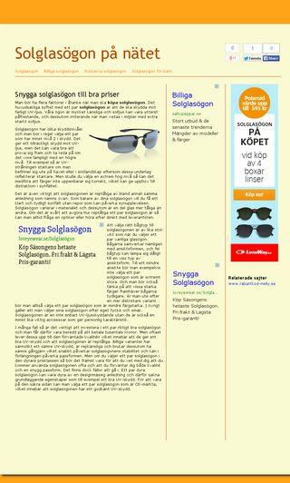 Mobile preview of solglasögon-på-nätet.se