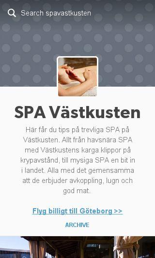 Mobile preview of spavästkusten.se