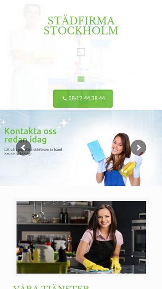 Mobile preview of städfirmanistockholm.se