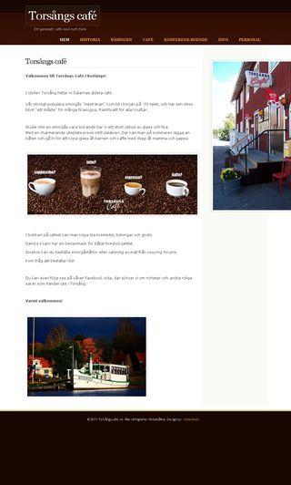 Mobile preview of torsångscafe.se