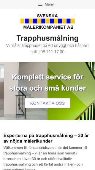 Mobile preview of trapphusmålning.nu