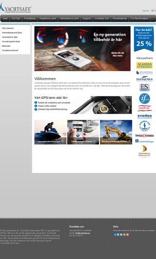 Mobile preview of yachtsafe.se