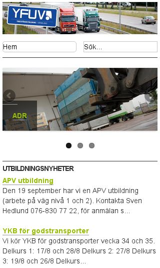 Mobile preview of yfuv.se