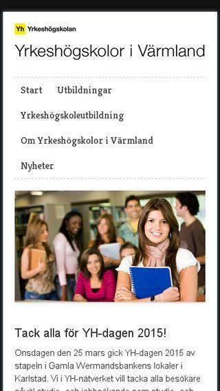 Mobile preview of yhvarmland.se