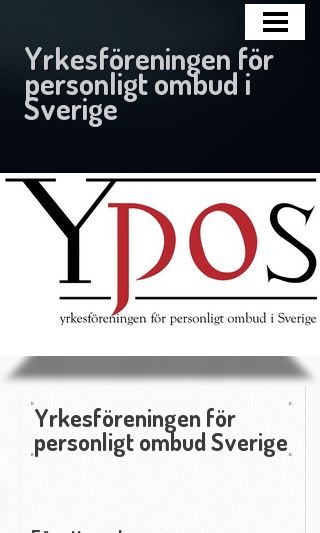 Mobile preview of ypos.se