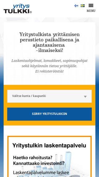 Mobile preview of yritystulkki.fi