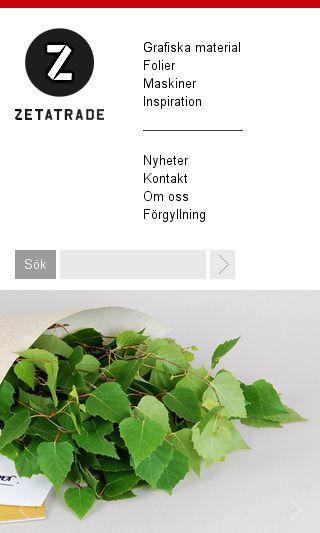 Mobile preview of zetatrade.se