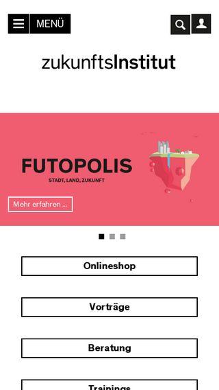 Mobile preview of zukunftsinstitut.de